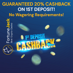 FortuneJack First Deposit Bonus